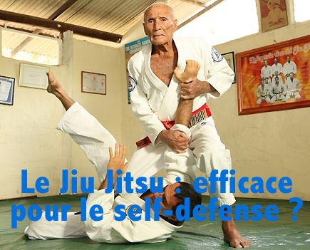 Le Jiu Jitsu : efficace pour la self-defense ?