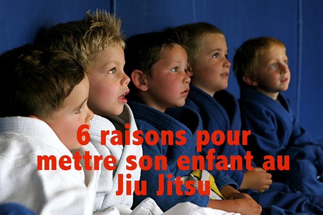 6 raisons d'encourager les enfants à faire du Jiu Jitsu
