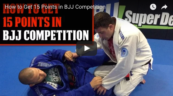 Video : Comment gagner 15 points en competition de Jiu Jitsu rapidement?