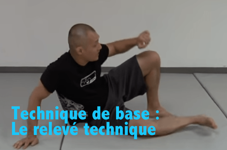 technique JJB jiu jitsu relevé