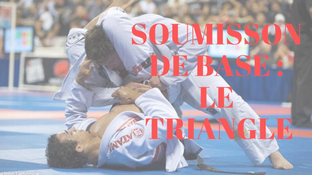 le triangle jiu jitsu brésilien