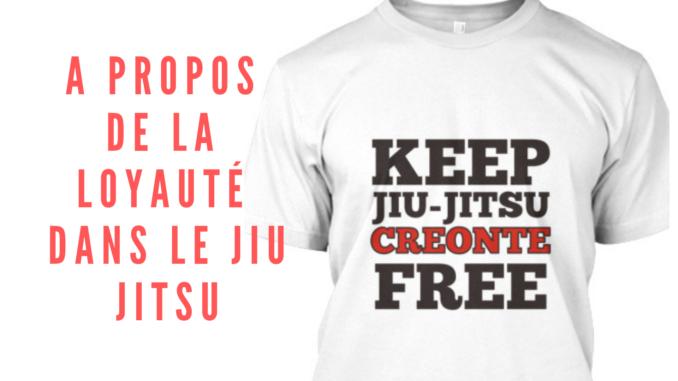 A propos de la loyauté dans le Jiu jitsu