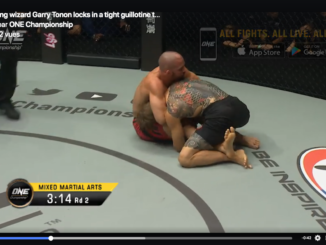 Garry tonon guillotine one fc