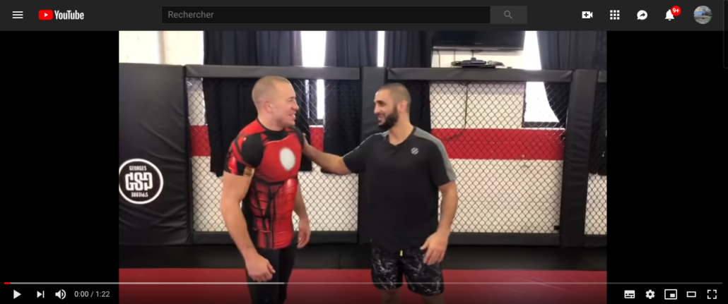 Georges st pierre firas zahabi triangle video