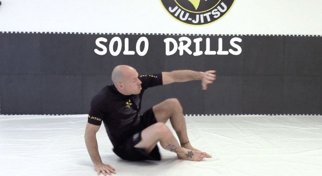 entrainement maison jiu jitsu