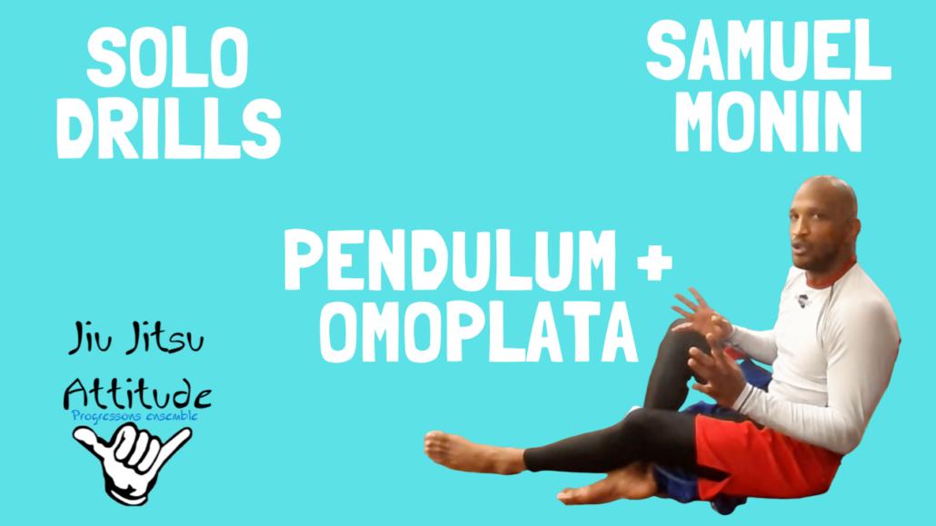 drill solo pendulum sweep omoplata